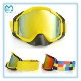 Coutume emballant des lunettes de sûreté de masque d'ordonnance de motocross