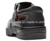 Sapatas de aço Rh103 dos homens das sapatas de segurança do dedo do pé