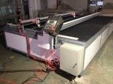 Máquina de estaca do vidro laminado do CNC da alta qualidade/tabela da estaca