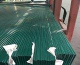 가로장과 외벽을%s 두 배 강화 유리 박판으로 만들어진 유리