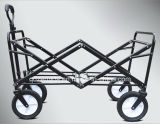 Chariot campant extérieur de bâti en acier robuste/pliage compressible