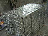 Tablón de acero del andamio del metal