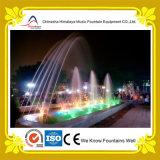 Fonte de água da associação do parque com testes padrões diferentes da água