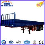 2016 Heet Verkopend 40-70 Ton van de Zijgevel/de ZijAanhangwagen van de Vrachtwagen van het Nut van de Lading van de Raad/van de Omheining Sterke Zware