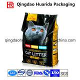 Flache Unterseiten-Stützblech-Kunststoffgehäuse-Beutel für Katze-Sänfte