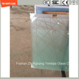 4-19mm Anti-Fingerprint Acid Ethced Tempered Glass Shower Door