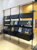 Scaffale decorativo della cremagliera di libro della cremagliera di scomparto del giornale di Partititon dello spazio di Uispair