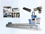 El metal instala tubos semi la cortadora del laser de la fibra de Sutomatic