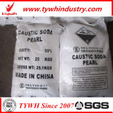 pérola da soda cáustica do saco 25kg