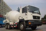 De Vrachtwagen van de Concrete Mixer van Dlong F2000 6X4 10wheels van Shacman
