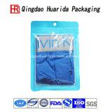 Подгонянный мешок прозрачной пластичной одежды одеяния застежки -молнии упаковывая