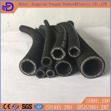SAE 100 R2at (2SN) boyau en caoutchouc industriel de fil d'acier de 1/4 pouce