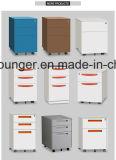 Шкаф хранения белого офиса цвета передвижной заполняя