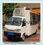 Mini kiosque de Warmerfries de véhicule de cuisine