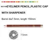 Деревянный косметический карандаш для Eyeliner с пластичной крышкой заточника