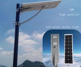 屋外のための1つの統合されたLEDの太陽街灯の40Wすべて