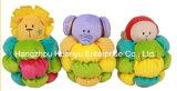 Stuk speelgoed van de Rammelaar van de Baby van de Pluche van de fabriek het Levering Gevulde