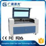 Modelo vívido acima e para baixo gravura do laser de Multifuction e máquina de estaca praticáveis