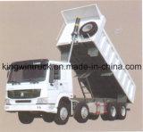 Marca di HOWO 30 tonnellate di 8X4 che conduce l'autocarro con cassone ribaltabile