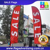 Флаг 100% пера летания полиэфира напольный рекламировать