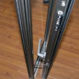 Alta finestra di alluminio anodizzata della stoffa per tendine di profilo Kz019 con la multi serratura