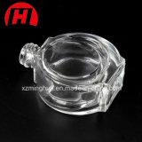 frasco de perfume Shaped do coração 30ml de cristal liso