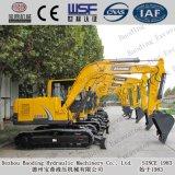 Baoding 150 máquinas escavadoras médias e pequenas seguidas