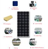 El panel solar semi flexible aprobado 120W de la FCC RoHS del Ce para el hogar de rv