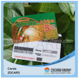 Het Materiële Plastic Adreskaartje van uitstekende kwaliteit van pvc- Identiteitskaart pvc