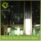 Aluminiumquadrat-Gefäß-Decken-Fliesen der dekoration-25W*100h für Gaststätte