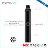 Crayon lecteur sec de vaporisateur d'herbe de Taitanvs de l'élément de chauffe E de cigarette de vaporisateur en céramique de cire