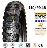 道を離れたアメリカの南はオートバイの部品のモーターバイクのオートバイのタイヤのオートバイのタイヤ110/90-18を疲れさせる