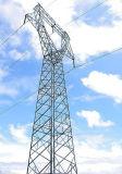 熱いすくいの電流を通された送電線タワー