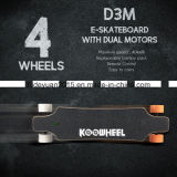 E-Skate de quatro rodas de Longboard da montanha nova