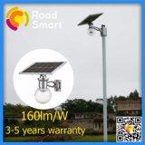 Réverbère solaire approuvé de Wiress IP65 DEL avec l'appareil-photo d'IP