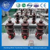 6kV/6.3kV/10kV/11kV trasformatore a bagno d'olio dell'alimentazione elettrica di distribuzione di sigillamento completo ONAN