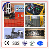 Máquina que prensa del manguito de acero de alta presión de la potencia del Finn de Uniflex del Ce