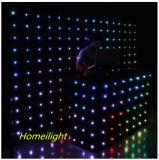 P18 풀 컬러 LED 비전 피복, 단계 결혼식 DJ 바를 위한 커튼
