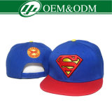 100%Cotton Printed Metal Logo Snapback Cap