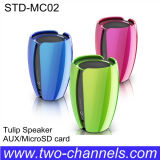 Tulip único Speaker con Micro SD Function (STD-MC02)