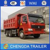 Autocarro con cassone ribaltabile del camion del carraio degli autocarri a cassone della Cina 21-30ton HOWO 6X4 10 cino
