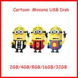비열한 만화 앞잡이 USB 디스크 저 USB 섬광 드라이브