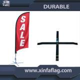 Bandierina della piuma di volo di alta qualità di pubblicità esterna