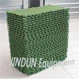 Almofada verde refrigerar evaporativo para a estufa