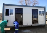 Flat prefabbricato Packing 20ft Container House Home