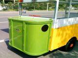 中国のバイクのカートの移動式店のトラックの三輪車の食糧カートの自転車の販売のための食糧トラック