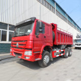 Caminhão de descarregador pesado do caminhão de Tipper do caminhão de descarga de Sinotruk HOWO 6X4
