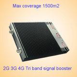 1800MHz 2100MHz 2600MHz Tri Band-zellularer Signal-Verstärker