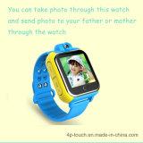 intelligente Kinder 3G GPS-Verfolger-Uhr mit der 2.0m Kamera (D18)