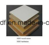MDF /Acrylic van de Melamine van het Gebruik van het meubilair Vochtbestendige MDF van de Raad